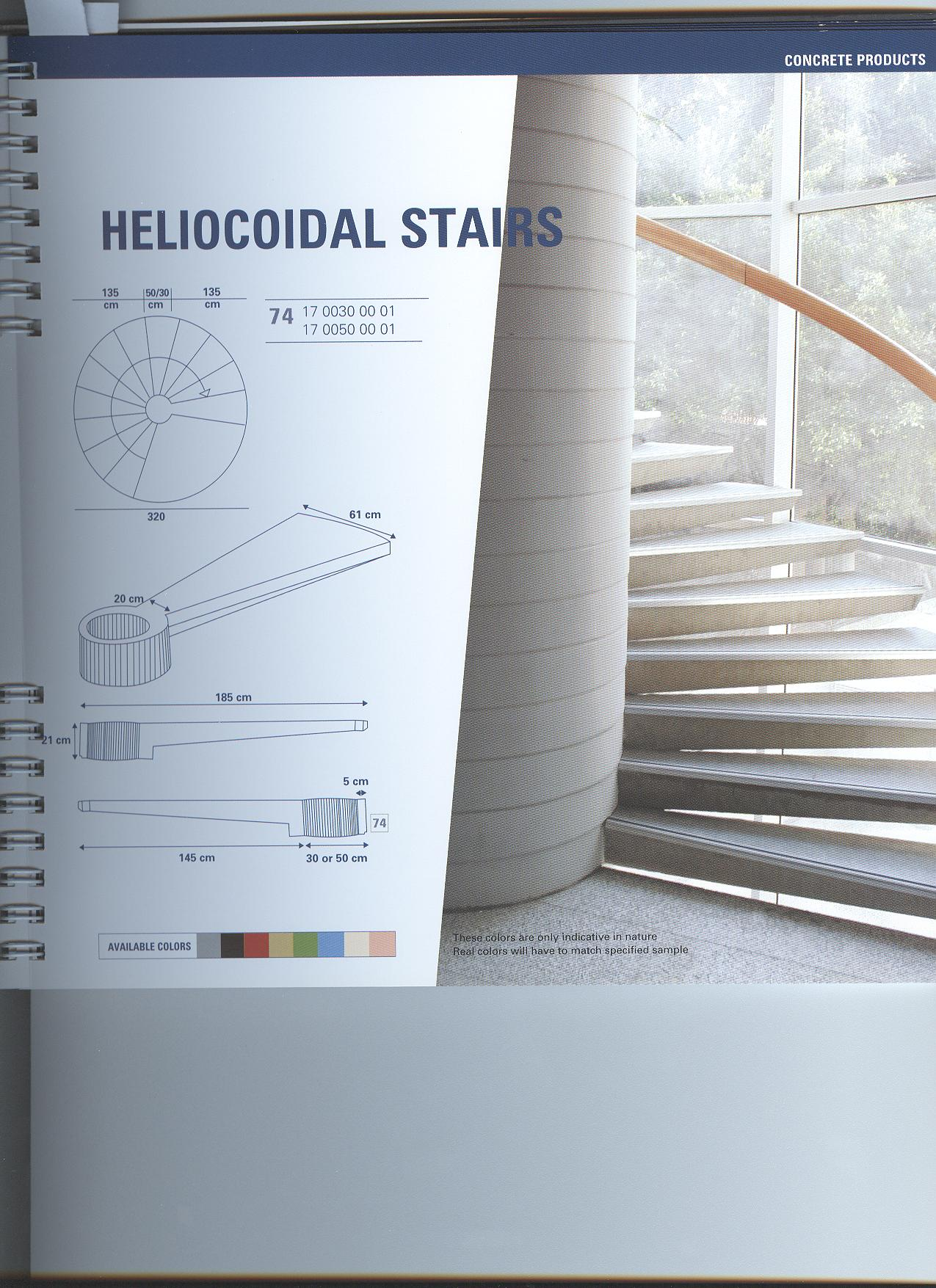 Helicoidal Stairs   PPB structures